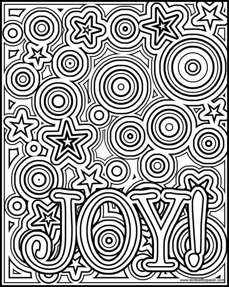 joy coloring pages for kids - photo#35