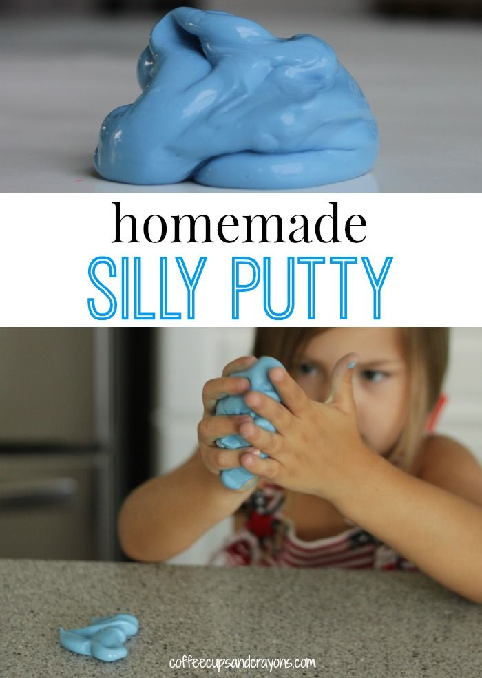 Homemade Silly Putty Recipe - only 3 ingredients!