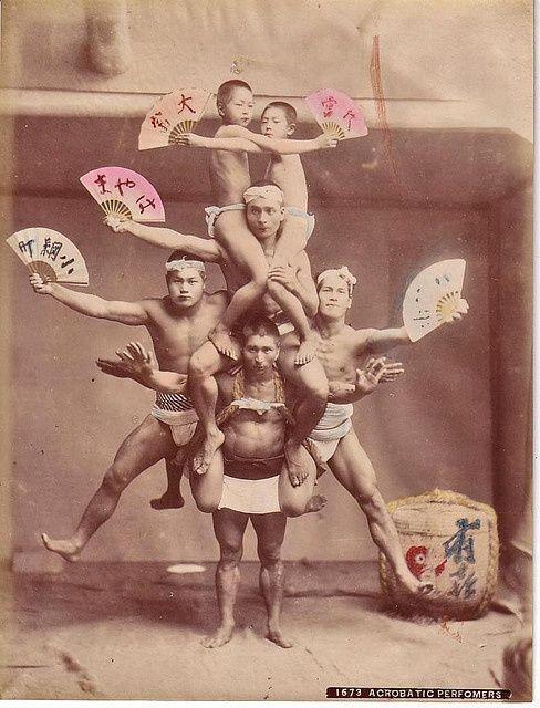 1873 acrobatic performers