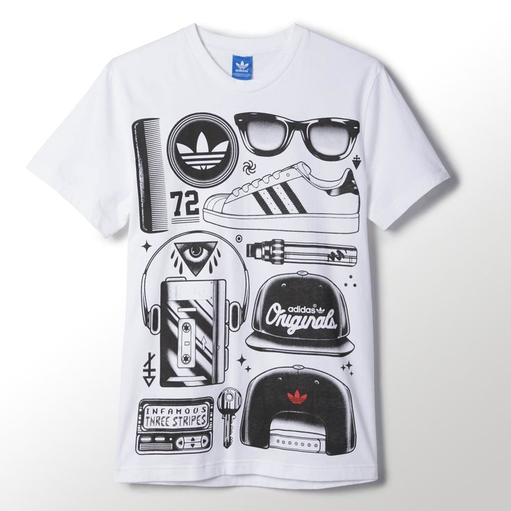 adidas - SST Look Graphic T-shirt