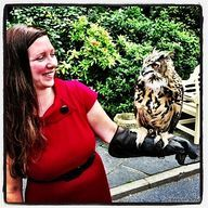 Erin Go Bragh - getting to meet an owl up close and personal while touring Ireland
