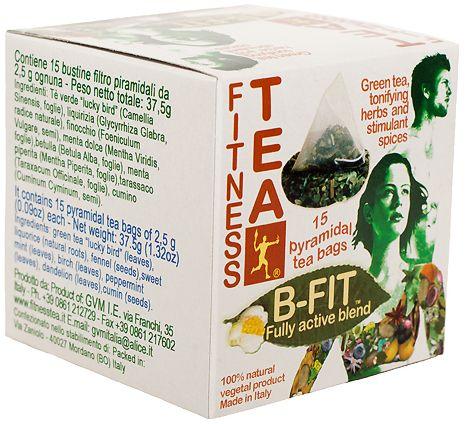 Fitness Tea. Made in Italy. www.fitnesscoffee.com