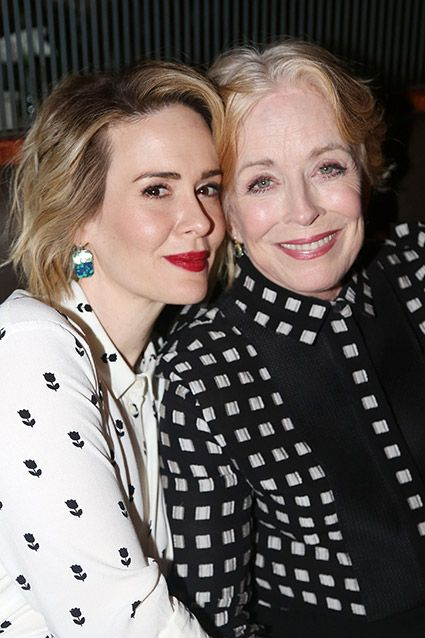 EXCLUSIVE: 'Two and a Half Men' star Holland Taylor is dating 'American Horror Story' actress Sarah Paulson