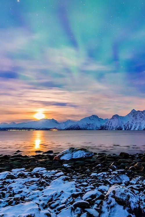 Norway's incredible sunrise