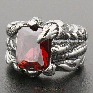 Cincin Cakar Naga Merah - Rawa-Bening.Com