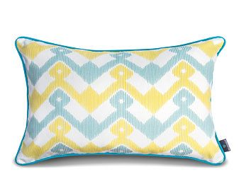 We Love Beds Geometry Blue Pillow Case -    Edit Listing  - Etsy