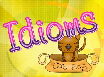 Idiom PowerPoint to practice figurative language idioms FREE
