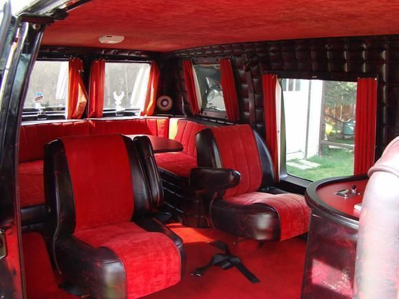 V8 Van Interior Ideas Custom V8 Van Conversion Boogie