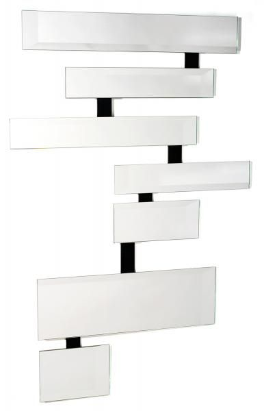 """OLIVIER GARCIA (né en 1956) - Grand miroir multifacettes """"Speedy"""", composé de sept[...], mis en vente lors de la vente """"Design International"""" à Tajan   Auction.fr"""