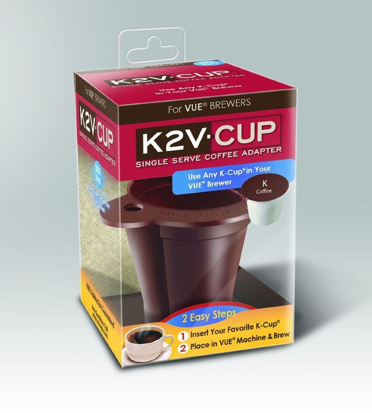 K2v Cup Keurig Vue Brewers Single Serve V500 V600 V700 K
