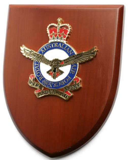 Defence Gifts - Air Force Plaque, $45.00 (http://www.defencegifts.com.au/air-force-plaque/)