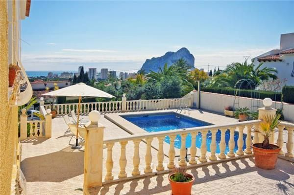 Amazing view for your holiday in Calpe, Costa Blanca, Spain