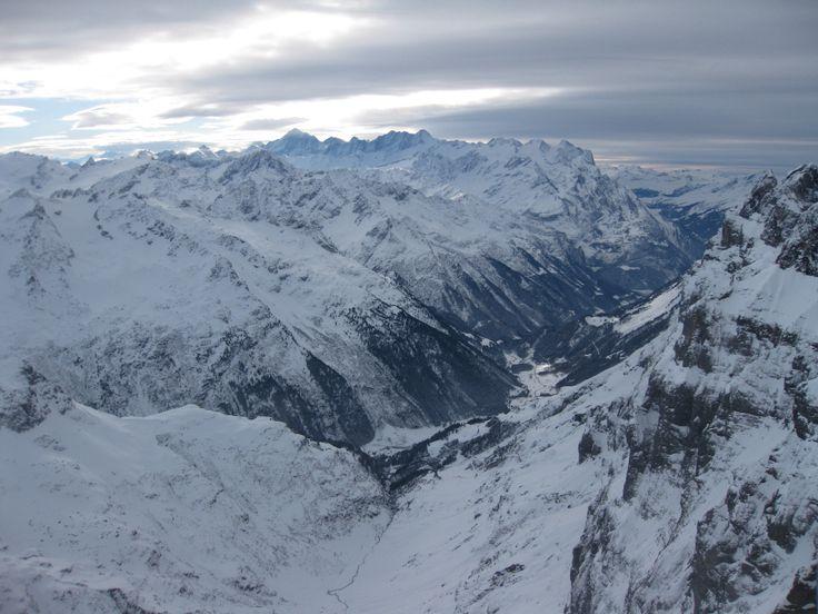 Swiss Alps. Engelberg, Mount Titlis.