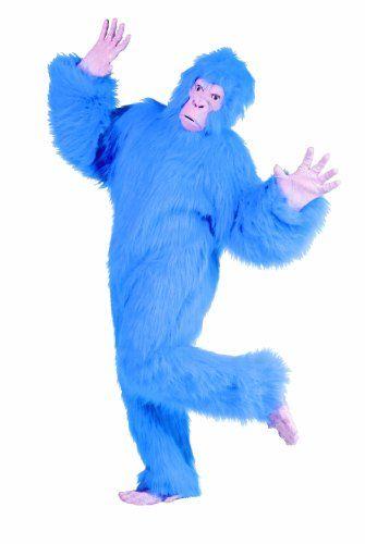 RG Costumes Men's Plus-Size Blue Gorilla