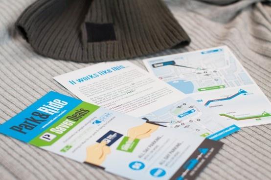 NZSki Snowline Park & Ride Saver Deal flyer design