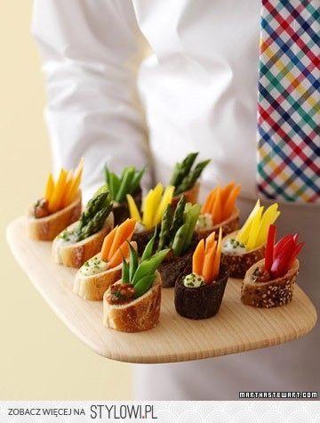 beautiful idea #buffet #food @Af 15/1/13