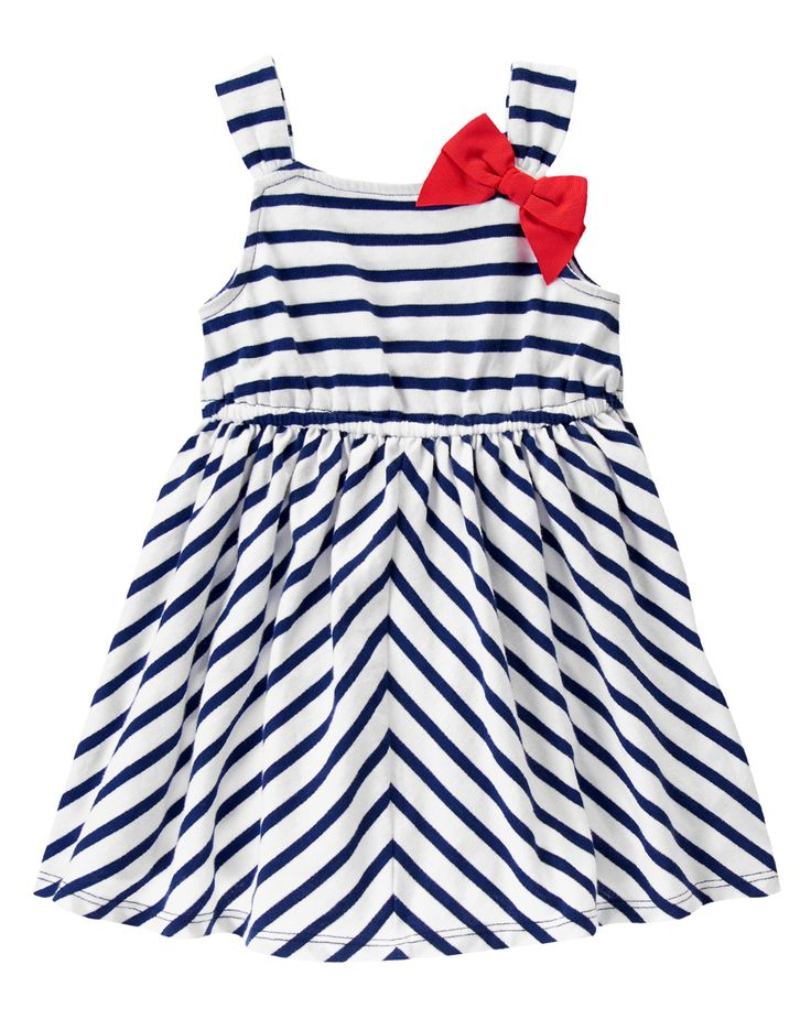 4th of July - Bow Striped Dress at Gymboree