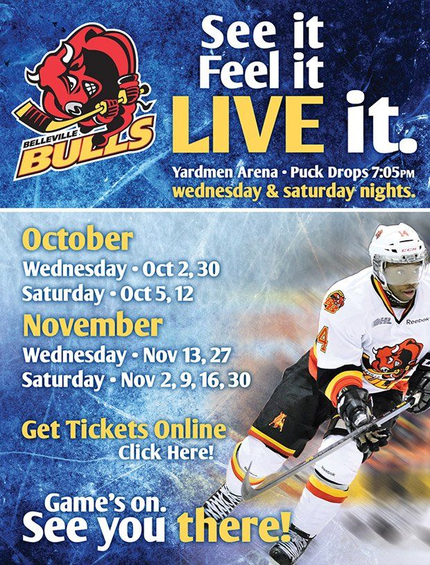 Belleville Bulls - Fan Zone www.yourbulls.com