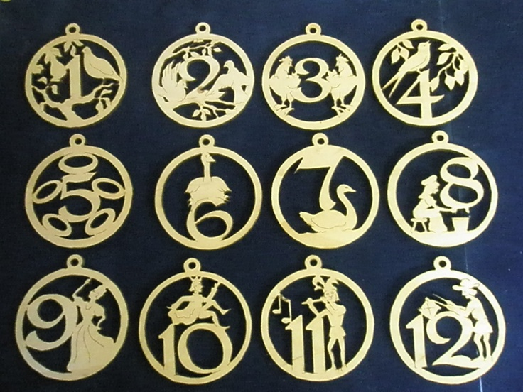 138 best Wooden Christmas decorations images on Pinterest | Wooden ...