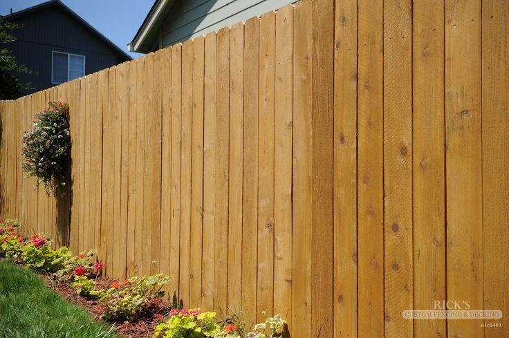 Cedar Fence & Cedar Fence Designs From Rick's Custom Fencing & Decking.  Enjoy the classic stylish look of cedar fences at your house with RicksFencing.com