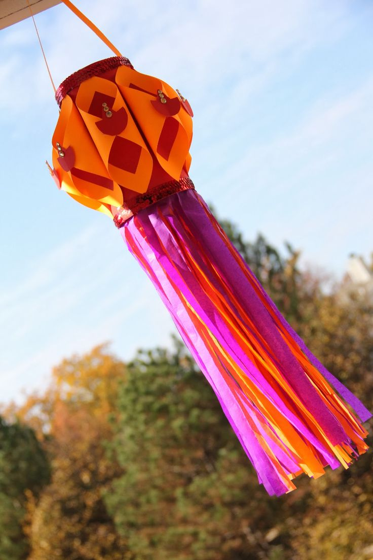 The Zing Of My Life: DIY Art Project - How to Make a Diwali Lantern (Akaash Kandil)
