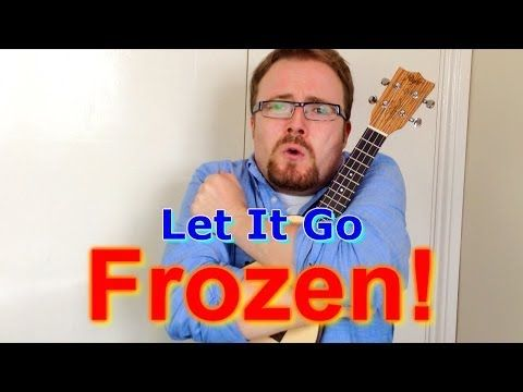 Let It Go - Frozen (Ukulele tutorial) - YouTube