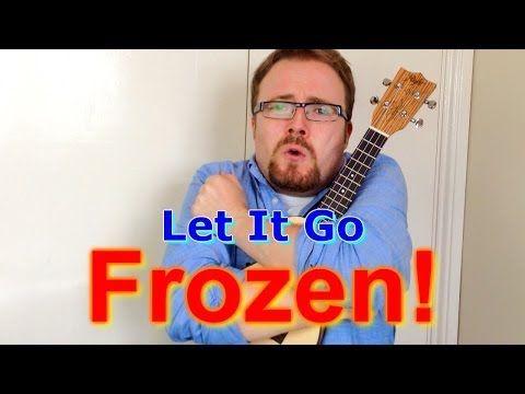 Let It Go - Frozen (Ukulele tutorial) - YouTube