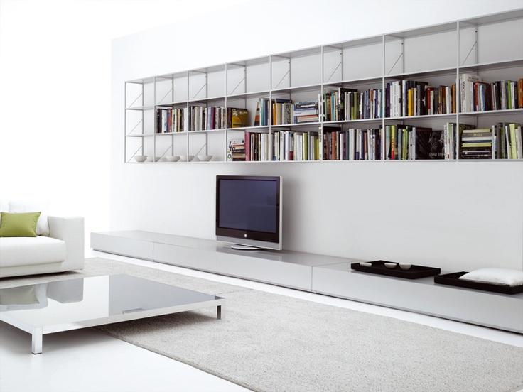Lowboard de MDF Italia. Muebles de diseño.  #furniture