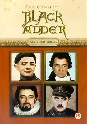Black Adder.  Another quirky and hilarious comedy out of the UK from writer Richard Curtis of Love Actually, starring Rowan Atkinson in his best character role.