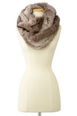 Faux Fur Infinity Scarf - Faux Fur Scarf, Fashionable Holiday Gifts, Women's Warm Scarf | Soft Surroundings