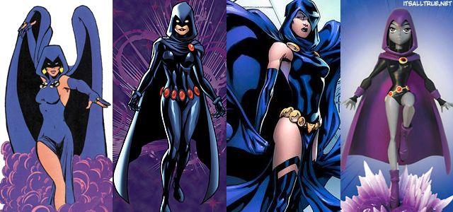 Raven et slade sur les titans de l'adolescence