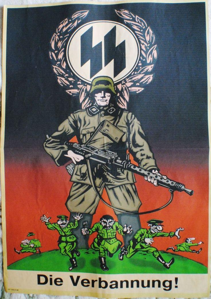 """WWII German  """"Die Verbannung!"""" poster"""