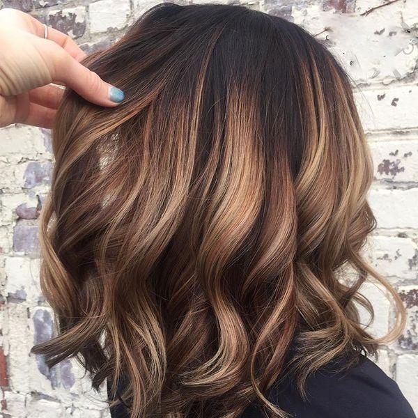 Braun Balayage Balayage Bobfrisuren Braun Damenfrisuren Frisuren Haarschnitt Hochzeitsfrisuren Kur Hair Styles Brown Hair Balayage Hair Color Balayage