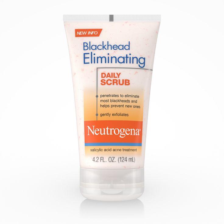 Neutrogena Exfoliating Blackhead Salicylic Acid Face Scrub – 4.2oz