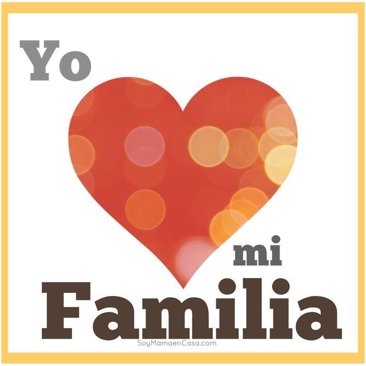 Yo amo a mi familia #graficos #love http://soymamaencasa.com