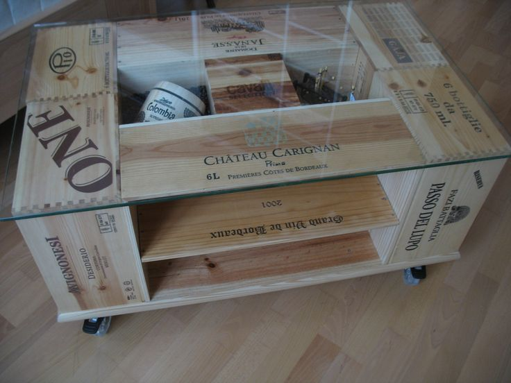 25 best crate coffee tables ideas on pinterest wine for Vintage wine crate coffee table