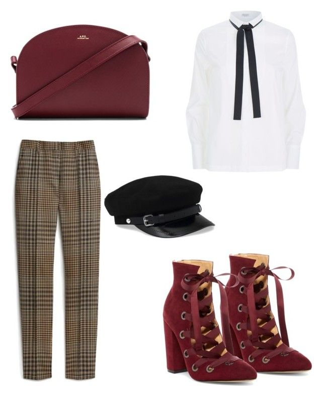"""Untitled #138"" by dariatamasan on Polyvore featuring Mulberry, Brunello Cucinelli, Daya and A.P.C."
