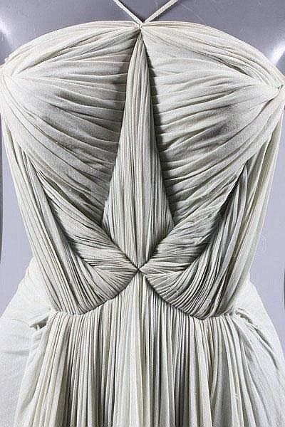 Evening Dress, Madame Grès, 1939 Kerry Taylor Auctions via Tumblr