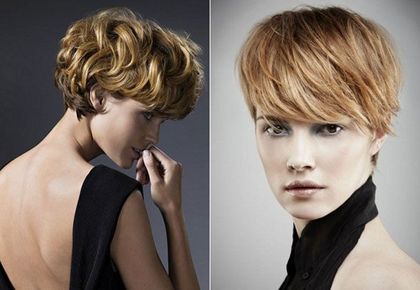 Best Women Short Hairstyles for Round Faces short haircuts thick hair round face…