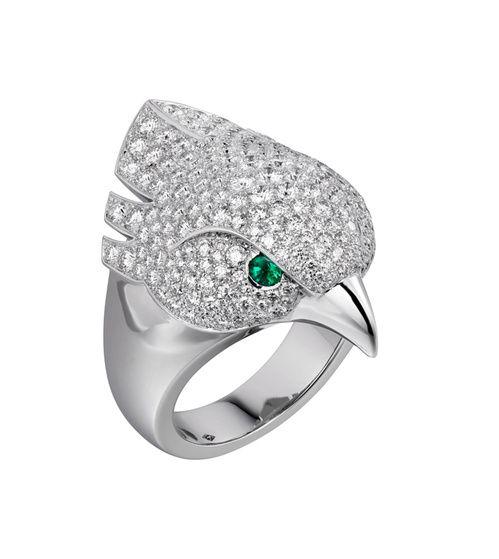 La bague Les Oiseaux Libérés en diamants de Cartier