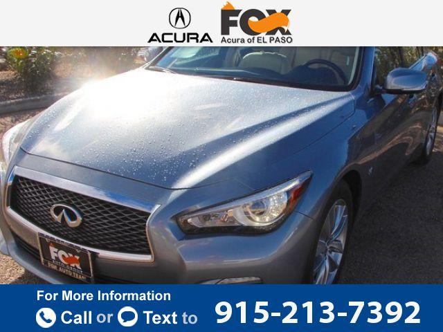 2014 *Infiniti*  *Q50* *4Dr* *sedan*  22k miles Call for Price 22795 miles 915-213-7392 Transmission: Automatic  #Infiniti #Q50 #used #cars #FoxAcuraofElPaso #ElPaso #TX #tapcars