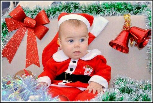 christmas card, my little santa