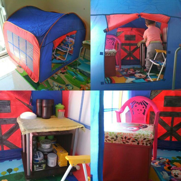 Σπιτάκι για το playroom 🏠