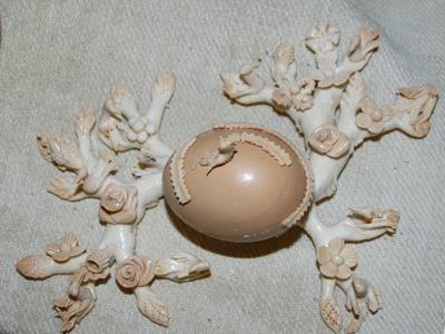 Cocoi con s'ou :pane che si preparava per la Pasqua