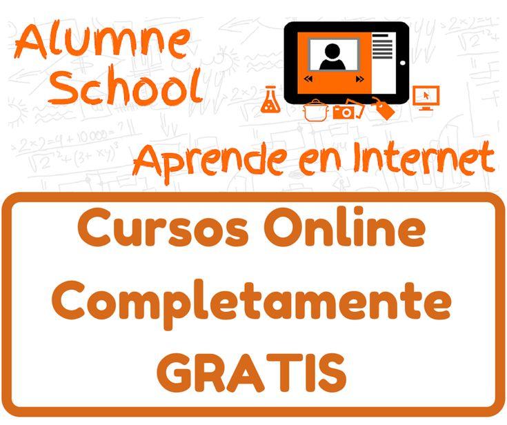 Alumne School ofrece cursos online completamente GRATIS con videos interactivos de los mejores expertos. Aprende con los mejores cursos onlineAlumneSchool