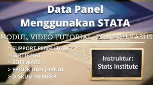Data Panel Menggunakan Stata: Modul Tutorial Contoh