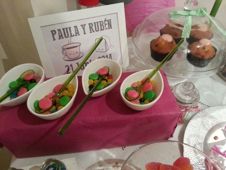 AnHa´s #CandyBar para endulzar bodas, eventos y comuniones