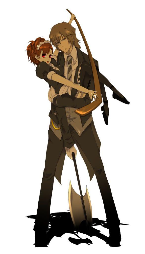 anime guy and girl fighting | Anime couples | Pinterest ...