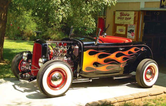 Tony Stark's 32 Ford Roadster