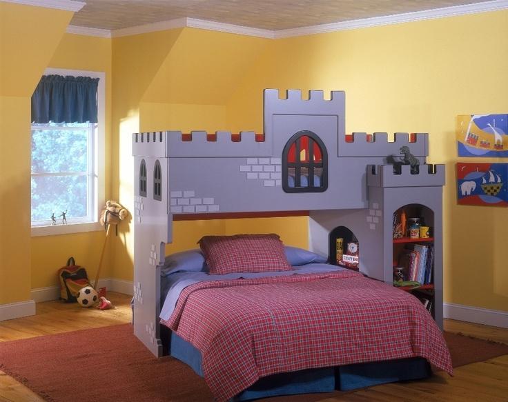 Castle Bed B 248 Rnev 230 Relse Kids Room Pinterest